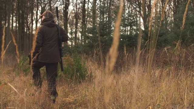 deer hunter - hunting sport stock videos & royalty-free footage