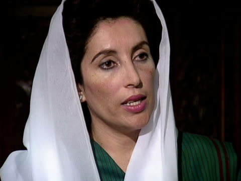 Defence Minister of Pakistan Benazir Bhutto says people of Kashmir are fighting for their own rights