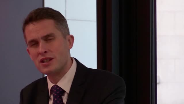 Defence Secretary Gavin Williamson attends O2's central London headquarters where the telecommunications giant became the 2000th company to sign the...