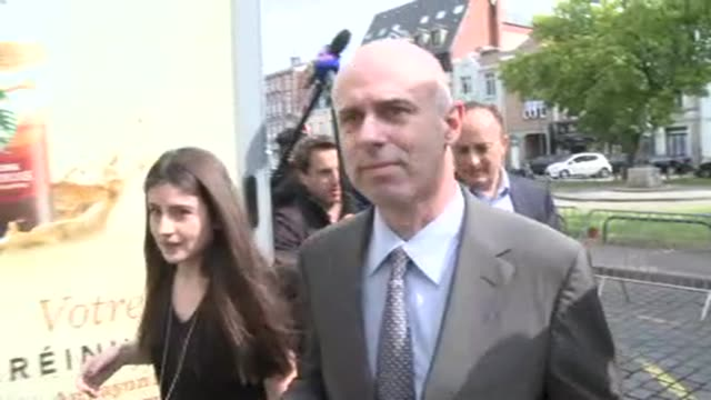 a defendant david roquet also involved in the pimping trial of eximf chief dominique strausskahn arrives at a lille court to hear the verdict - defendant stock videos and b-roll footage