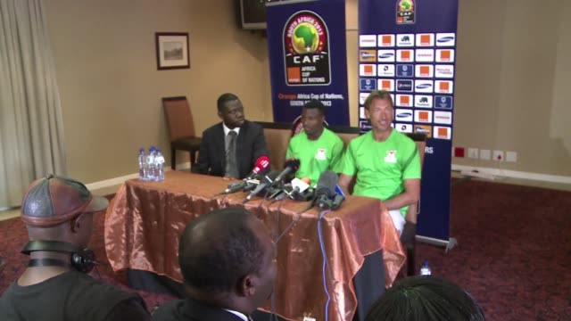 defending africa cup of nations champions zambia take on the surprise group c leaders burkina faso on tuesday clean zambia coach lauds burkina faso... - mpumalanga province stock videos and b-roll footage