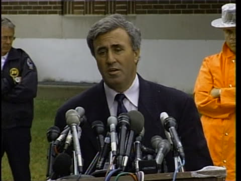 defense attorney mickey sherman comments on michael skakel's sentence. michael skakel is a cousin of the kennedy family and murdered martha moxley... - ethel kennedy stock videos & royalty-free footage