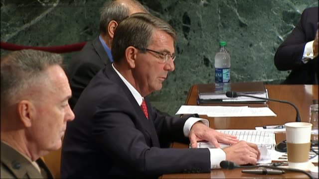 Defense Secretary Ashton Carter tells members of the Defense Subcommittee of the Senate Appropriations Committee at the Defense Department does not...