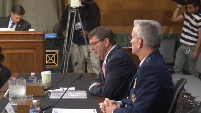 Defense Secretary Ashton Carter tells the Senate Armed Services Committee that inserting forces into Syria would be fighting on the enemies terms...