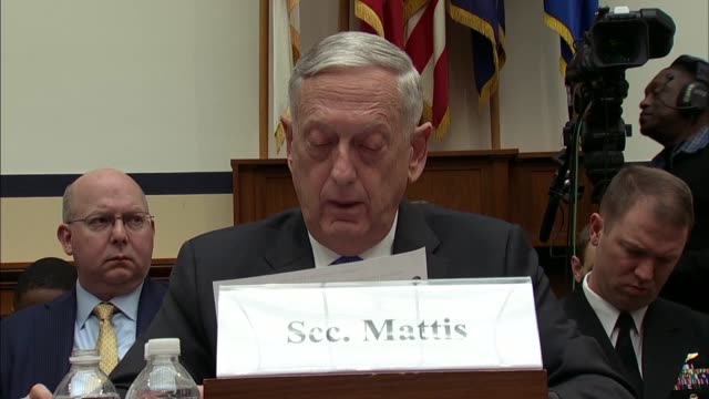 Defense Secretary Jim Mattis says at a House Armed Services Committee hearing on defense strategy and nuclear posture review that a review of the...