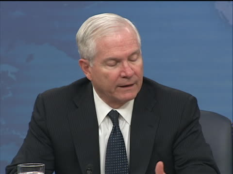 defense secretary robert gates talks about the killing of osama bin laden and if pakistan senior leaders knew where osama bin laden was hiding... - business or economy or employment and labor or financial market or finance or agriculture stock videos & royalty-free footage