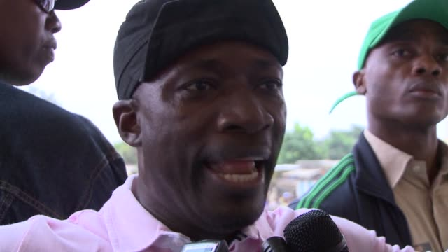defiant ivory coast leader laurent gbagbo's most notorious lieutenant on wednesday urged the strongman's diehard supporters to launch an unarmed... - côte d'ivoire stock videos & royalty-free footage