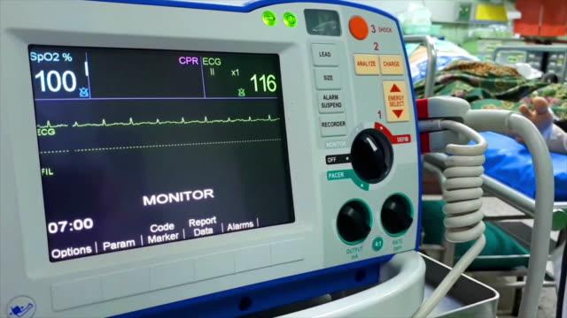 defibrillation is a treatment. - defibrillator stock videos & royalty-free footage
