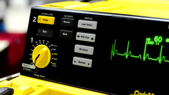 defibrillator - defibrillator stock videos and b-roll footage