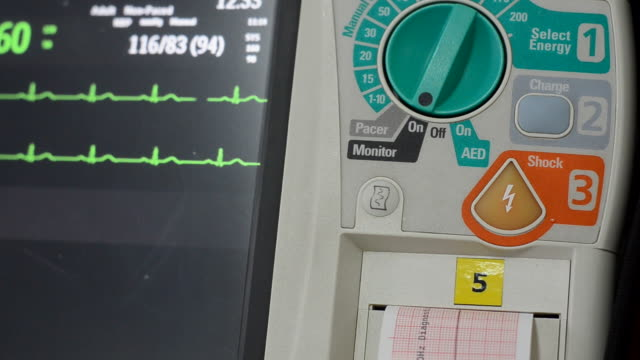 defibrillator - emergency equipment stock videos & royalty-free footage