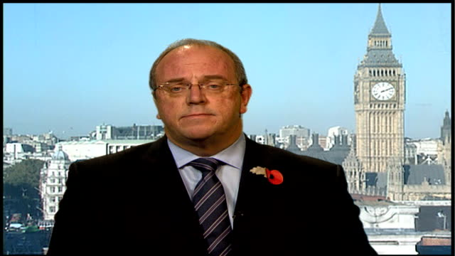London Westminster INT David Nicholson interview SOT in fact the deficit is not getting bigger / this time last year we were predicting 600 million...