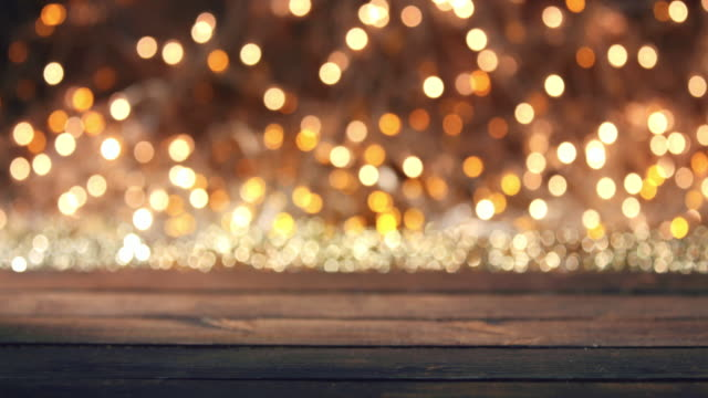 defocused abstract background blur motion with bokeh ligh - christmas lights stock videos & royalty-free footage