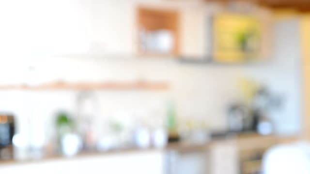 Defocused Apartment Background