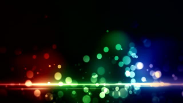 defocused background animation loop - blinking star stock videos & royalty-free footage