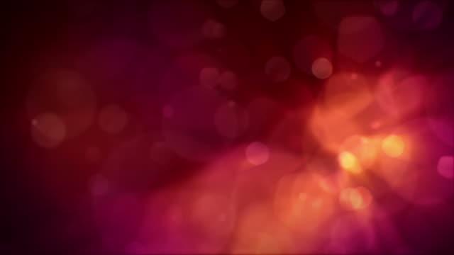 ボケ背景 - 沢山の物点の映像素材/bロール