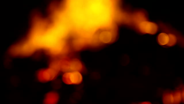 defocused burning pyre of dead person - hinduism stock videos & royalty-free footage