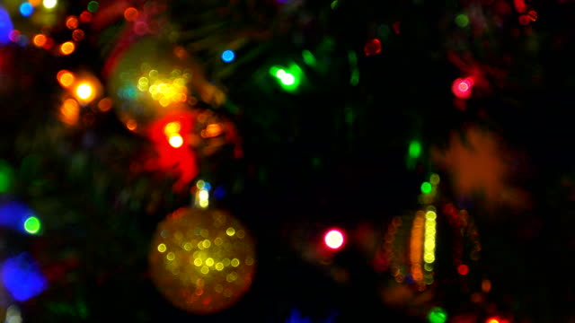 Defokussierten Weihnachten Hintergrund