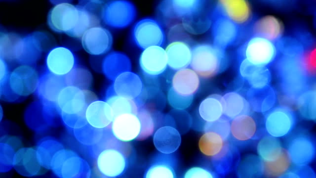 defocused christmas light bokeh - soft focus stock videos & royalty-free footage