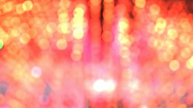 defocused disco lights - disco lights stock videos & royalty-free footage
