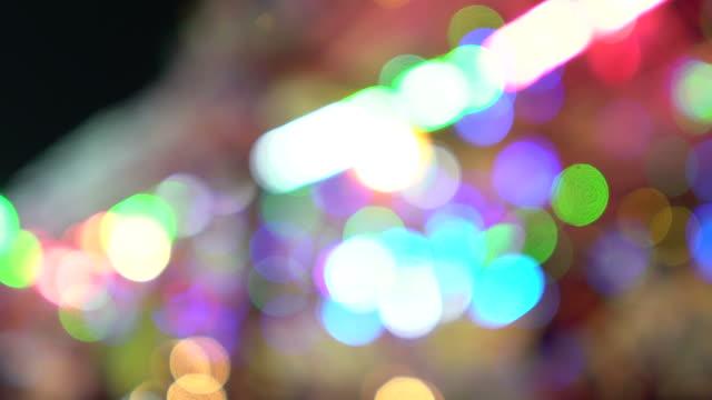 vidéos et rushes de lumières défocalisés - format hd