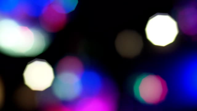 Defocused of Disco Ball