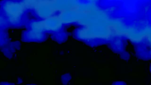 vídeos de stock, filmes e b-roll de fundo desfocado partículas. loopable. diferentes movimentos das partículas. versão 8 - ilustração biomédica