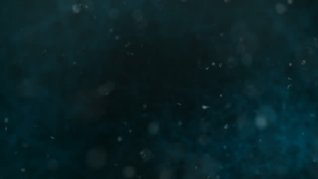 defocused particles, standard. blue, brown, green. - underwater stock videos & royalty-free footage