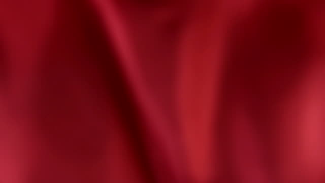 Defocused red silk