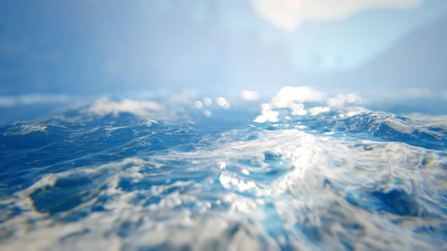 Defocused rough seas / seascape