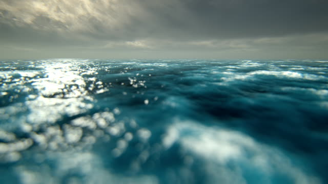 defocused rough seas - ocean tide stock videos & royalty-free footage