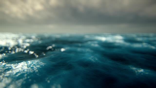 defocused rough seas - rough stock videos and b-roll footage