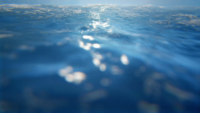 Defocused sea / seascape