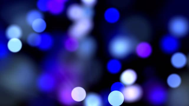 デフォーカスシームレスループ背景ストックビデオ - 発光ダイオード点の映像素材/bロール
