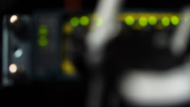 defocused shot of flashing lights on a computer server. - blinking stock videos & royalty-free footage