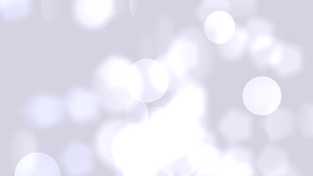 defocused soft particles (loopable) - white color stock videos & royalty-free footage