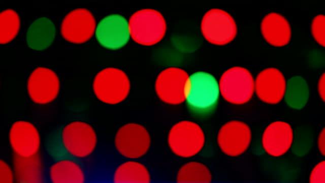 vidéos et rushes de sans mise au point un éclairage de la scène - lumière stroboscopique