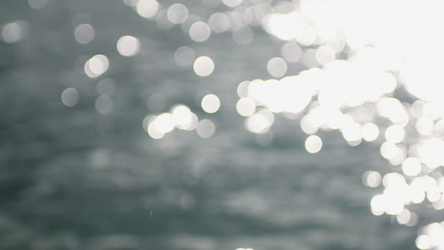 defocused sunlight on water surface - less than 10 seconds stock videos & royalty-free footage