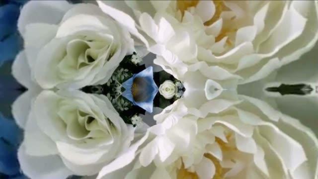 vidéos et rushes de défocalisé, surréel abstraite animation graphique - infini