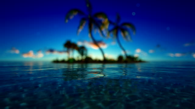 Defocused tropical ocean