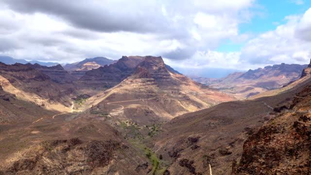 degollada de la yegua views - gran canaria time lapse - grand canary stock videos & royalty-free footage