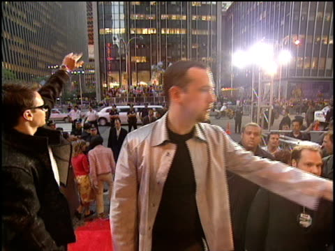 98 degrees arrive to the 2000 video music awards at radio city music hall - radio city music hall stock videos & royalty-free footage