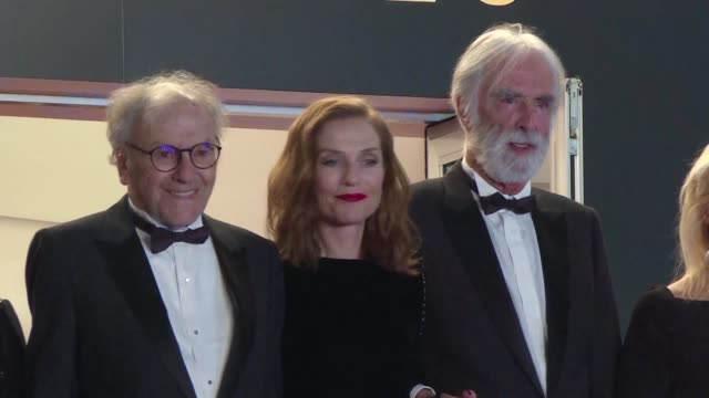 vídeos de stock, filmes e b-roll de dehumanised bourgeoisie an imploding family and death michael haneke presented happy end in cannes on monday hoping to become the first filmmaker to... - imploding