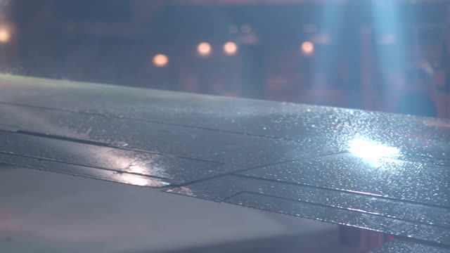 De-Icing of Airplane Wings Before Flight