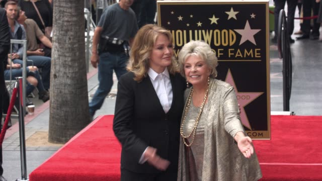 deidre hall and susan seaforth hayes at deidre hall honored with star on the hollywood walk of fame at hollywood walk of fame on may 19 2016 in... - deidre hall stock videos and b-roll footage