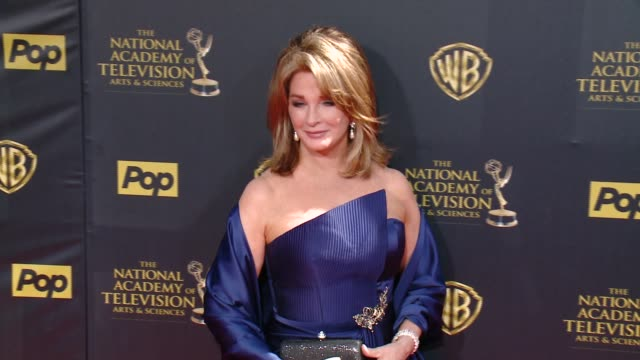 deidre hall at 42nd annual daytime emmy awards at warner bros studios on april 26 2015 in burbank california - deidre hall stock videos and b-roll footage