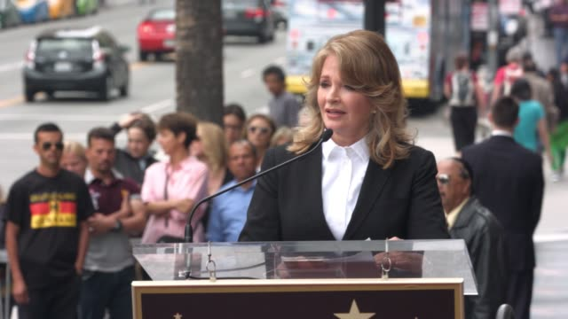 speech deidre hall at deidre hall honored with star on the hollywood walk of fame at hollywood walk of fame on may 19 2016 in hollywood california - deidre hall stock videos and b-roll footage