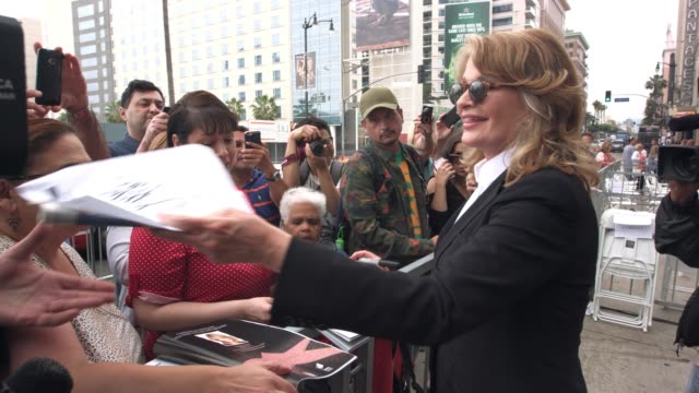 deidre hall at deidre hall honored with star on the hollywood walk of fame at hollywood walk of fame on may 19 2016 in hollywood california - deidre hall stock videos and b-roll footage
