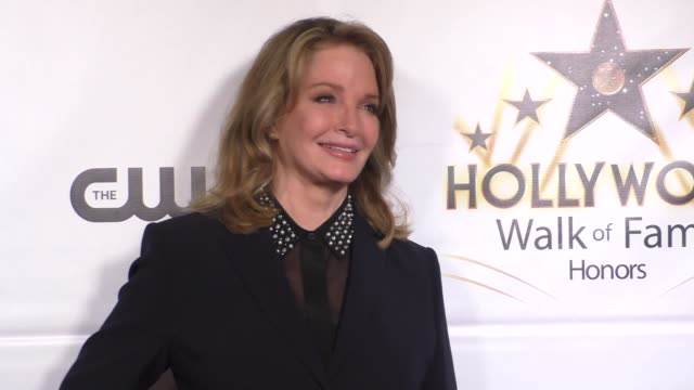 deidre hall at hollywood walk of fame honors on october 25 2016 in hollywood california - deidre hall stock videos and b-roll footage