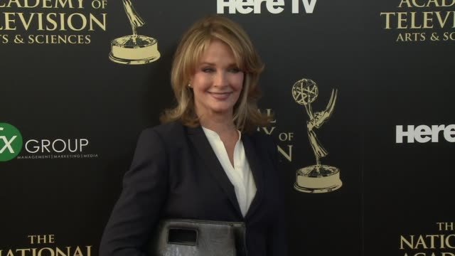 deidre hall at the 2014 daytime emmy awards at the beverly hilton hotel on june 22 2014 in beverly hills california - deidre hall stock videos and b-roll footage