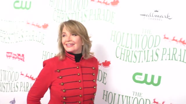 deidre hall at the 85th annual hollywood christmas parade on november 27 2016 in hollywood california - deidre hall stock videos and b-roll footage